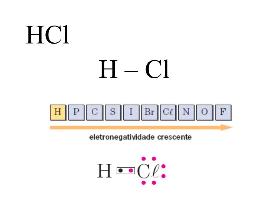 HCl H – Cl