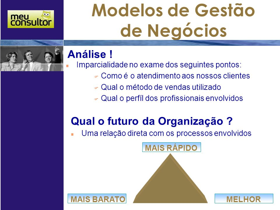 Qual o futuro da Organização