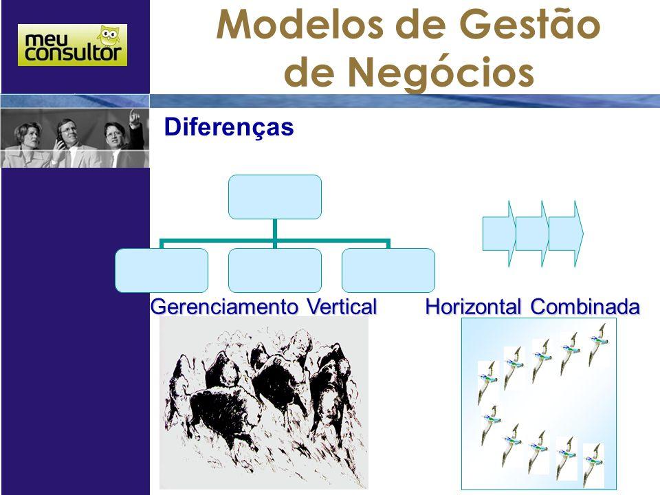Diferenças Gerenciamento Vertical Horizontal Combinada 06/04/2017