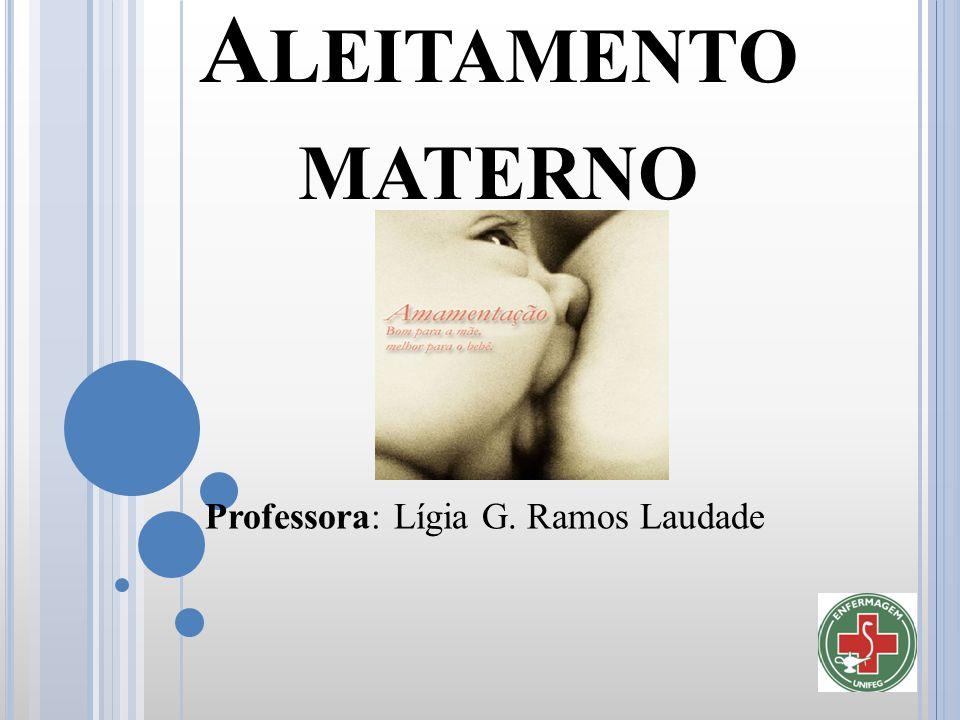 Professora: Lígia G. Ramos Laudade