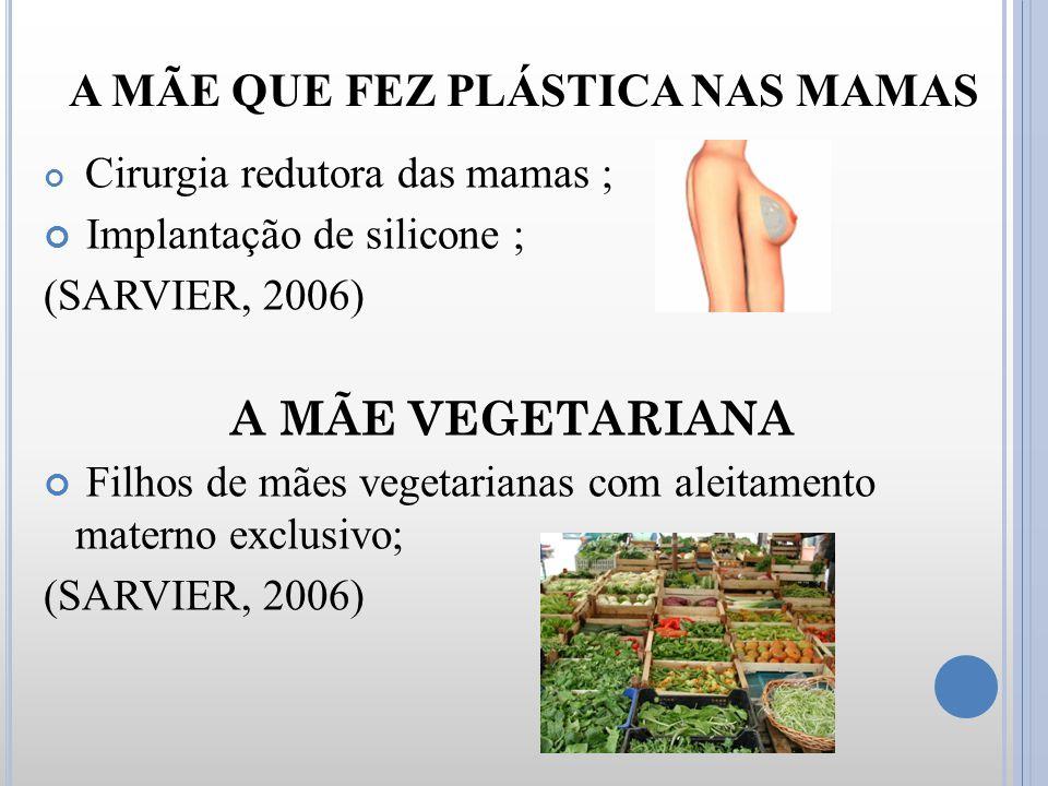 A MÃE QUE FEZ PLÁSTICA NAS MAMAS