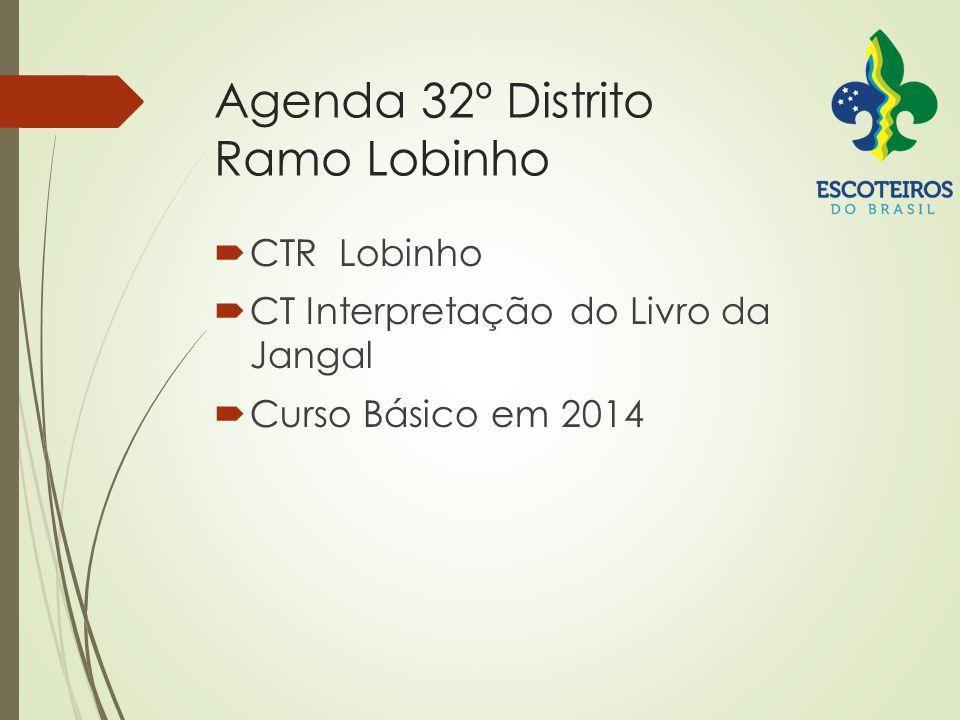 Agenda 32º Distrito Ramo Lobinho