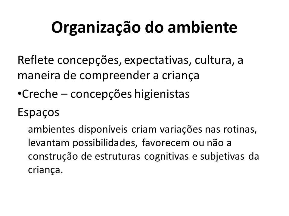 Organização do ambiente
