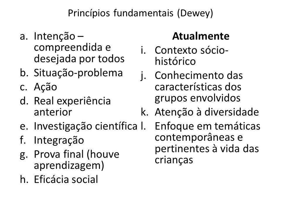 Princípios fundamentais (Dewey)