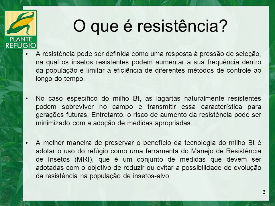 O que é resistência