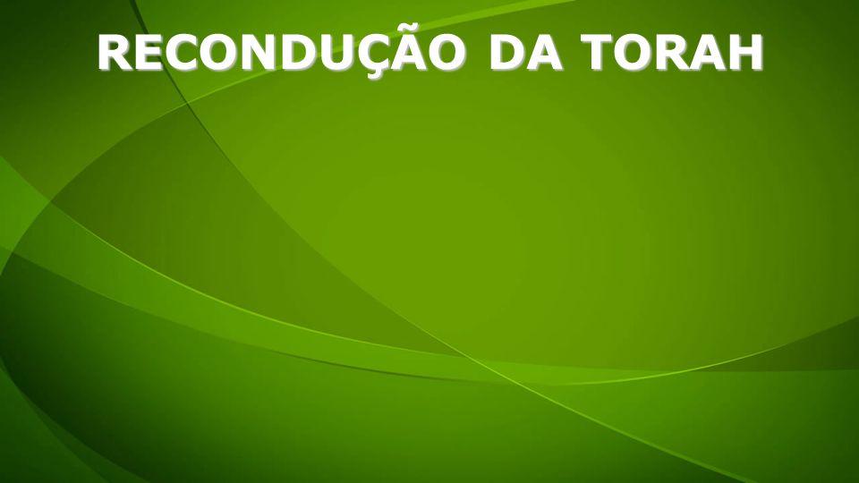 RECONDUÇÃO DA TORAH