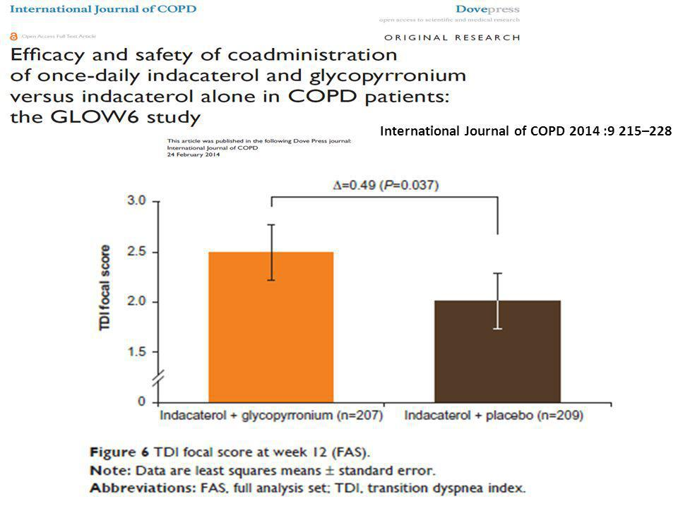 International Journal of COPD 2014 :9 215–228