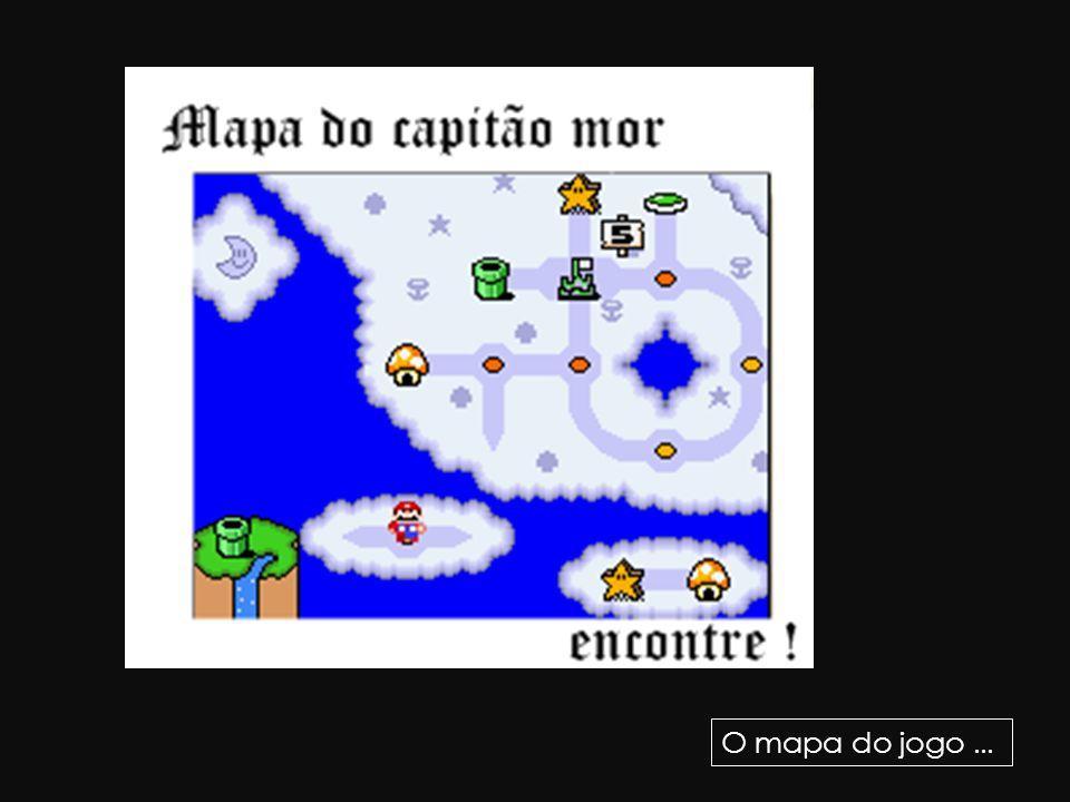 O mapa do jogo ...