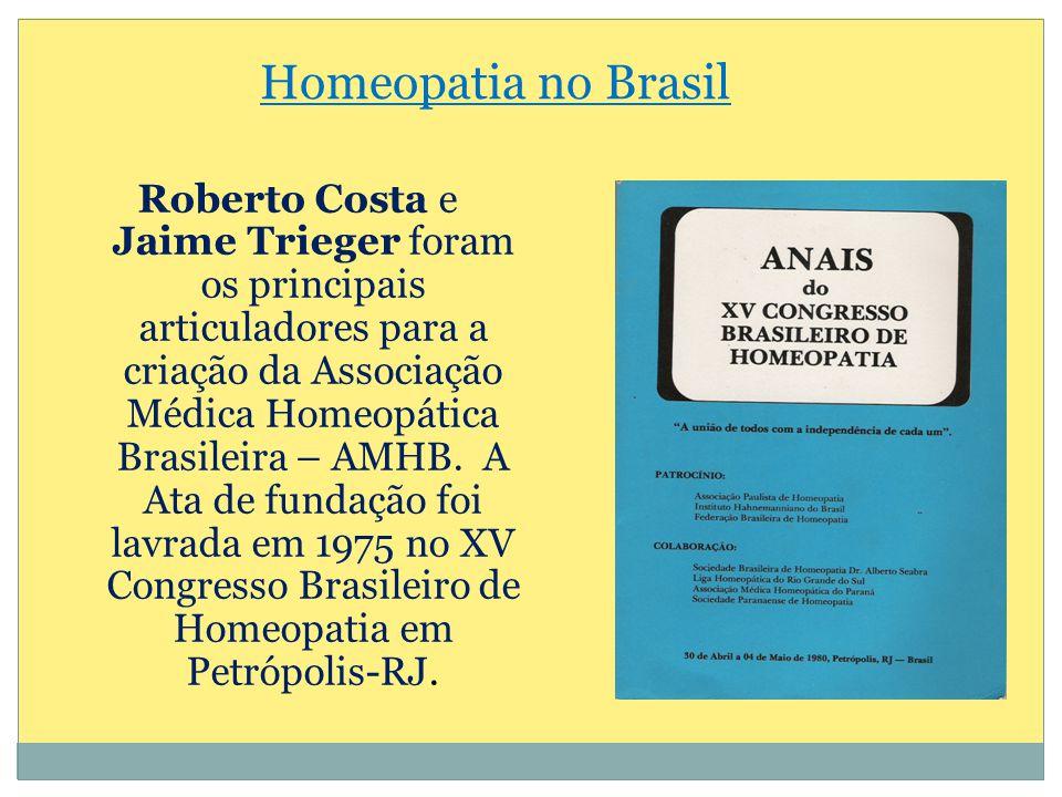 Homeopatia no Brasil
