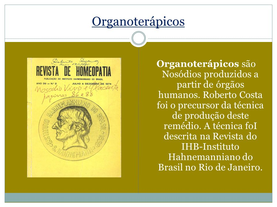 Organoterápicos