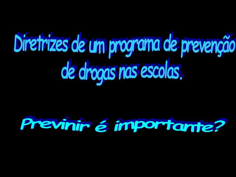 Diretrizes de um programa de prevenção