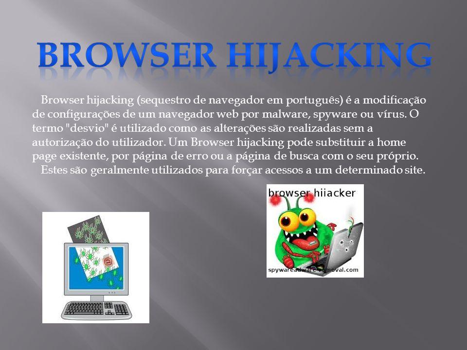 Browser hijacking