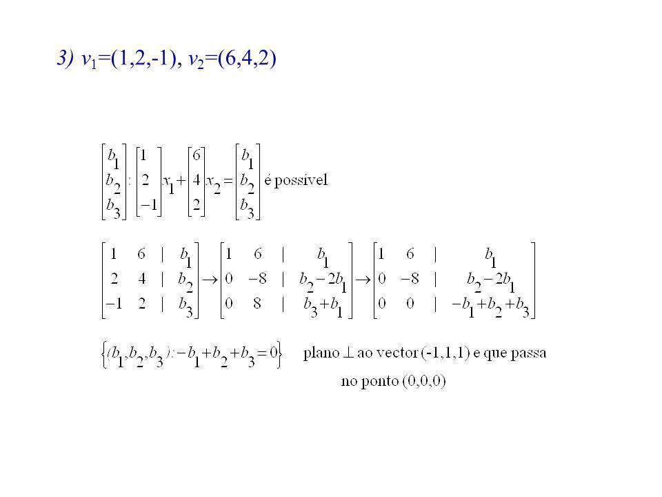 v1=(1,2,-1), v2=(6,4,2)
