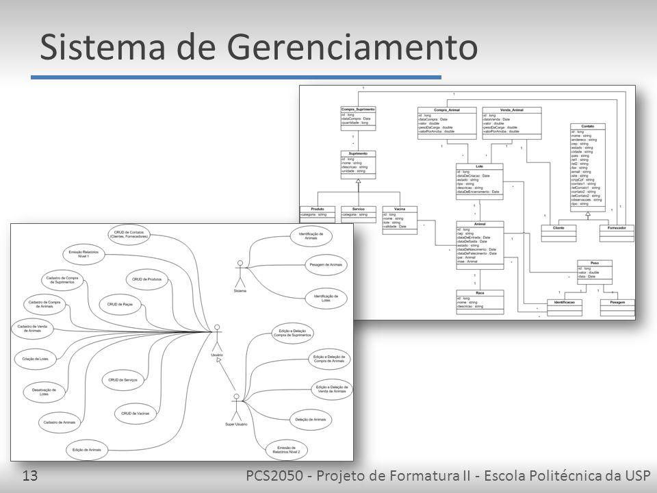 Sistema de Gerenciamento