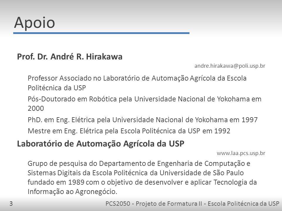 Apoio Prof. Dr. André R. Hirakawa