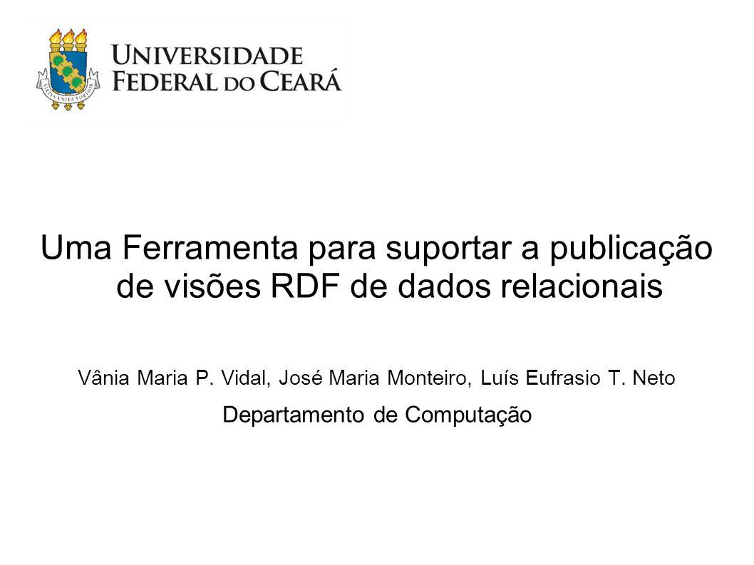 Uma Ferramenta para suportar a publicação de visões RDF de dados relacionais