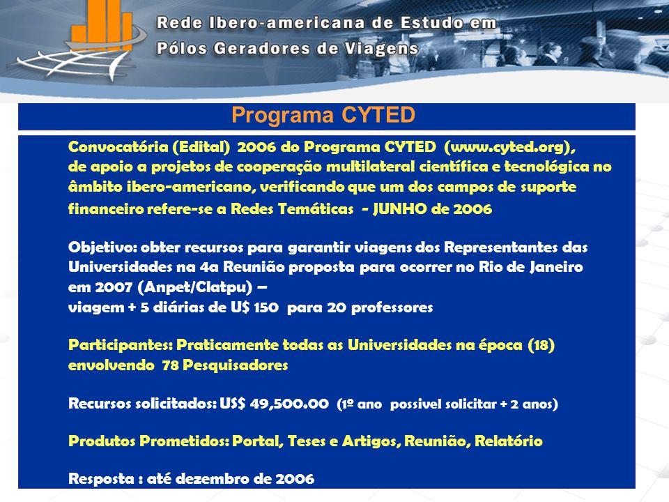 Programa de Engenharia de Transportes - COPPE/UFRJ