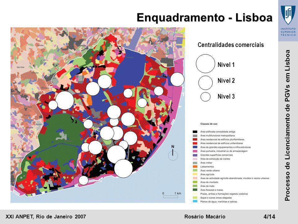 Enquadramento - Lisboa