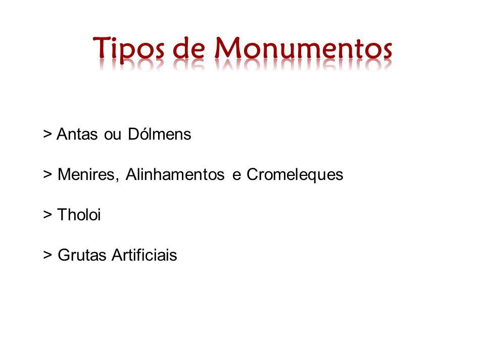 Tipos de Monumentos > Antas ou Dólmens
