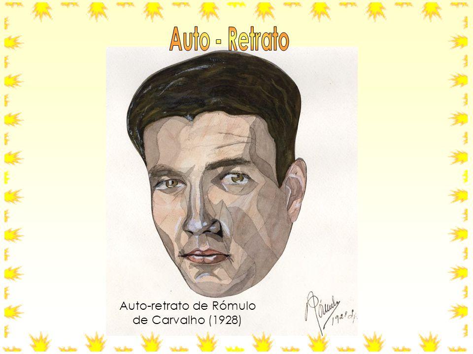 Auto-retrato de Rómulo de Carvalho (1928)