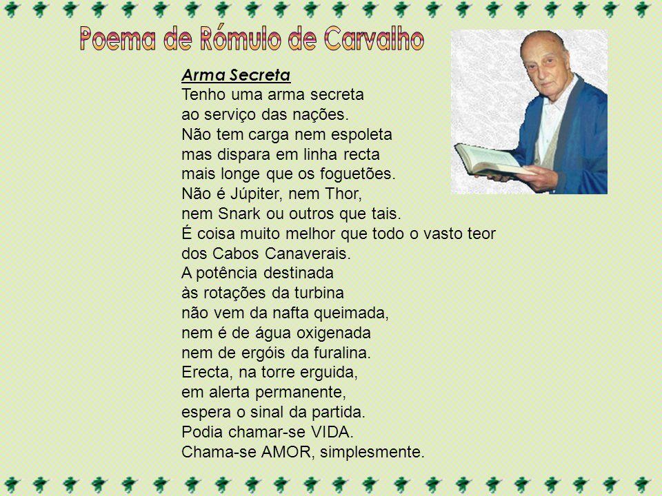 Poema de Rómulo de Carvalho