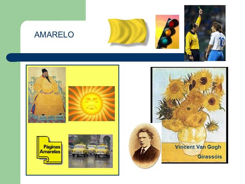 AMARELO Vincent Van Gogh Girassóis Características