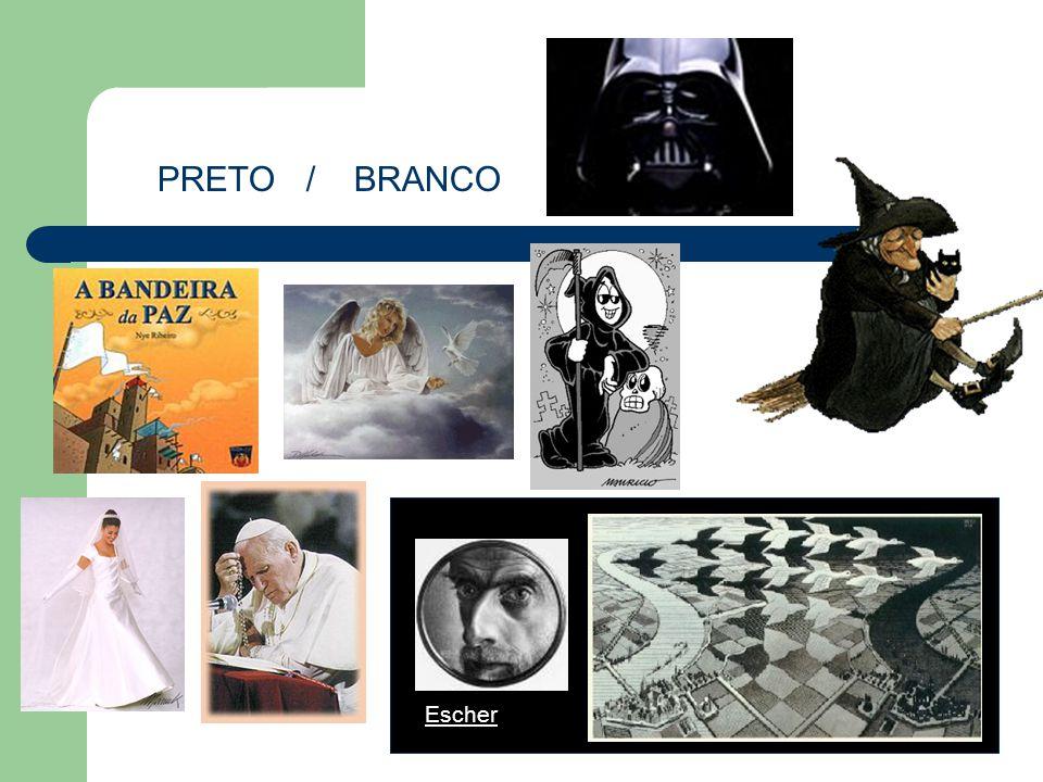 PRETO / BRANCO Escher Características