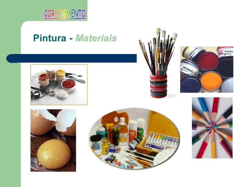COR-PIGMENTO Pintura - Materiais