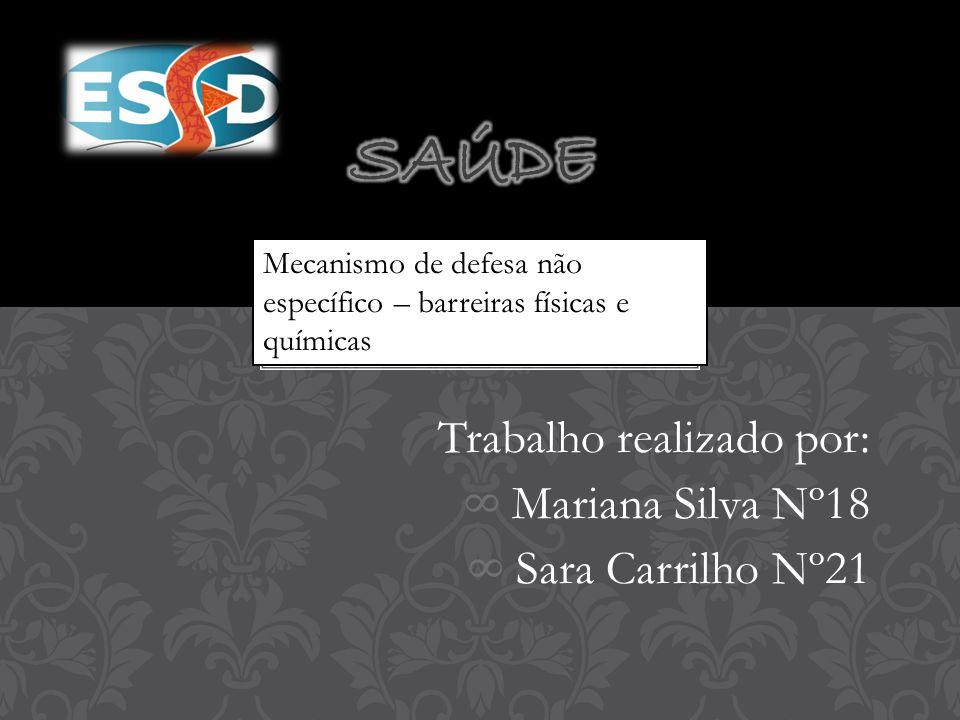 Trabalho realizado por: Mariana Silva Nº18 Sara Carrilho Nº21