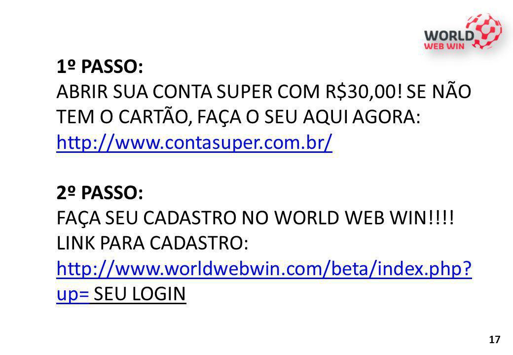 FAÇA SEU CADASTRO NO WORLD WEB WIN!!!!