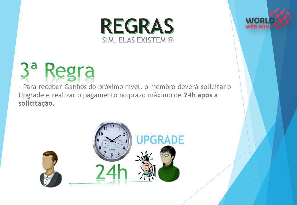 REGRAS 3ª Regra 24h UPGRADE SIM, ELAS EXISTEM 