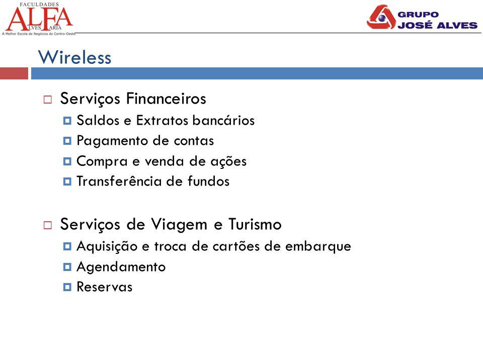 Wireless Serviços Financeiros Serviços de Viagem e Turismo