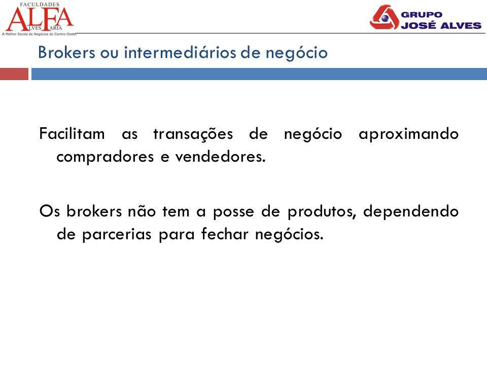 Brokers ou intermediários de negócio