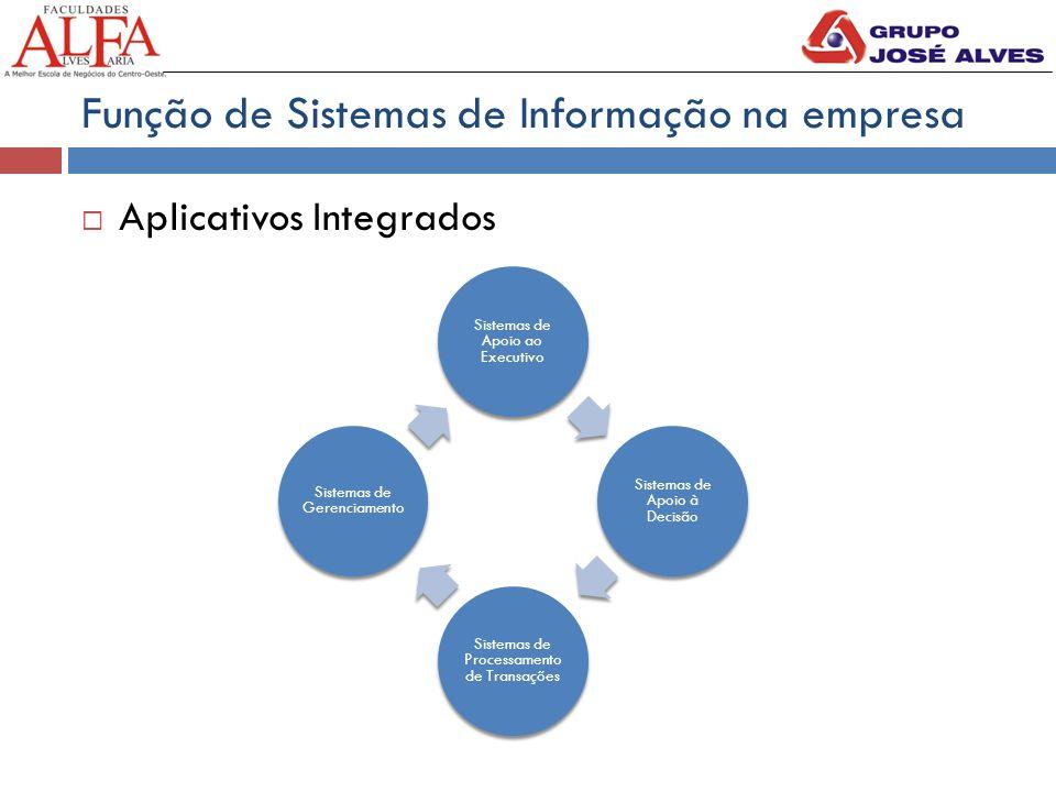 Função de Sistemas de Informação na empresa