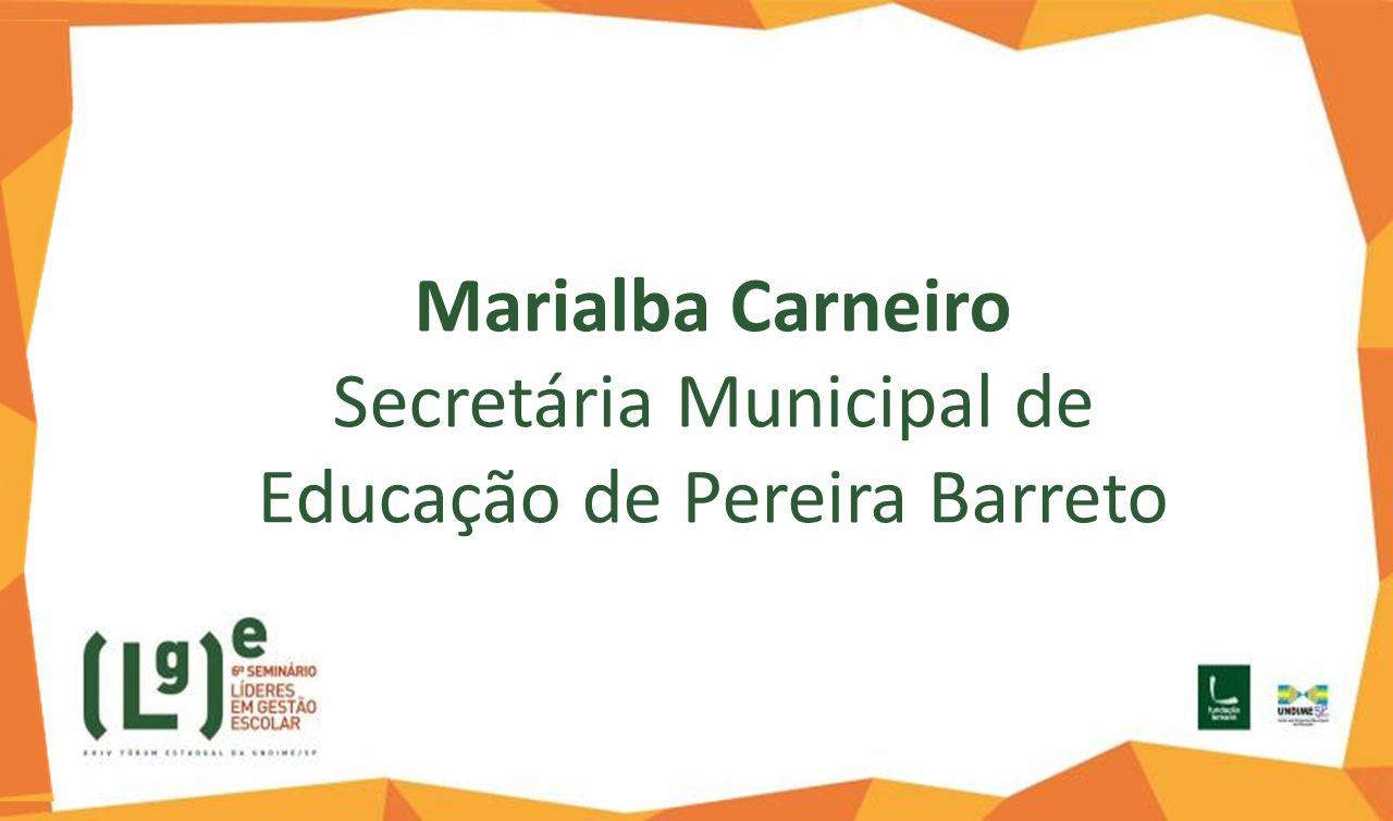 Secretária Municipal de Educação de Pereira Barreto