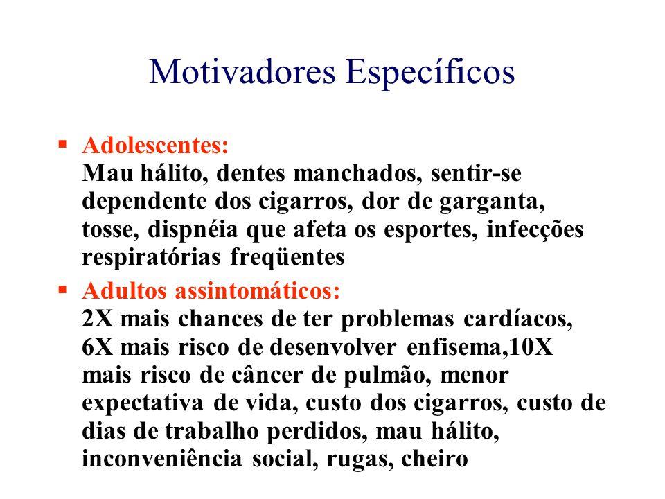 Motivadores Específicos