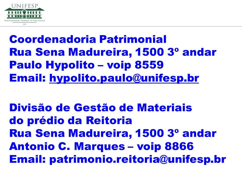 Coordenadoria Patrimonial