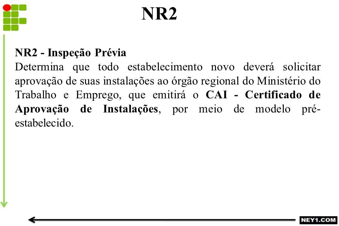 NR2 NR2 - Inspeção Prévia.