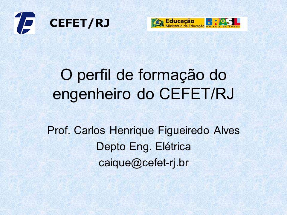 O perfil de formação do engenheiro do CEFET/RJ