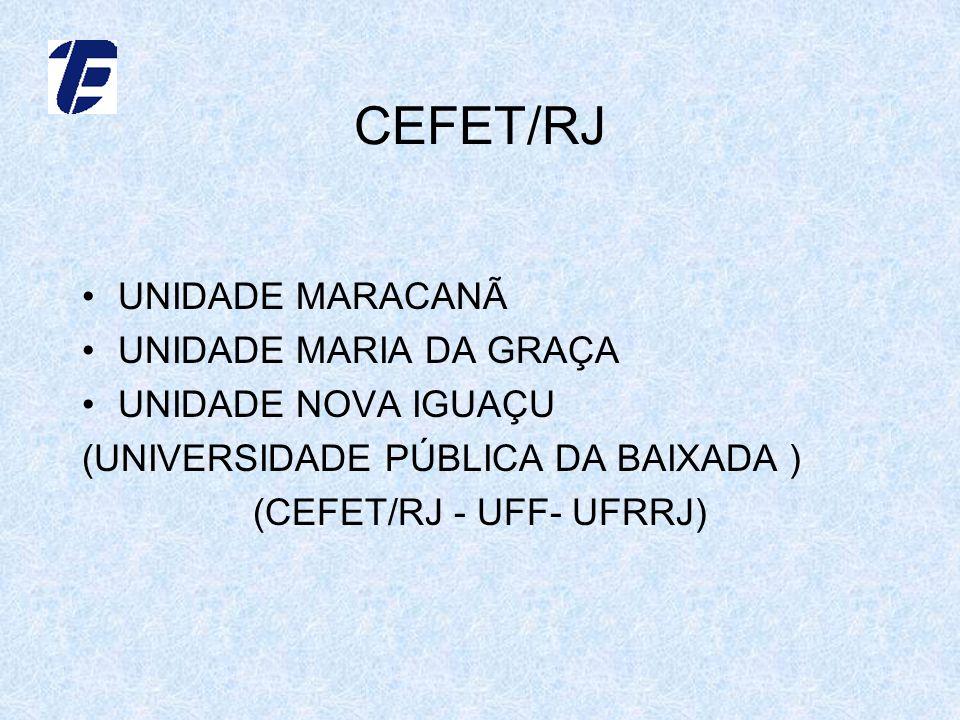 (CEFET/RJ - UFF- UFRRJ)