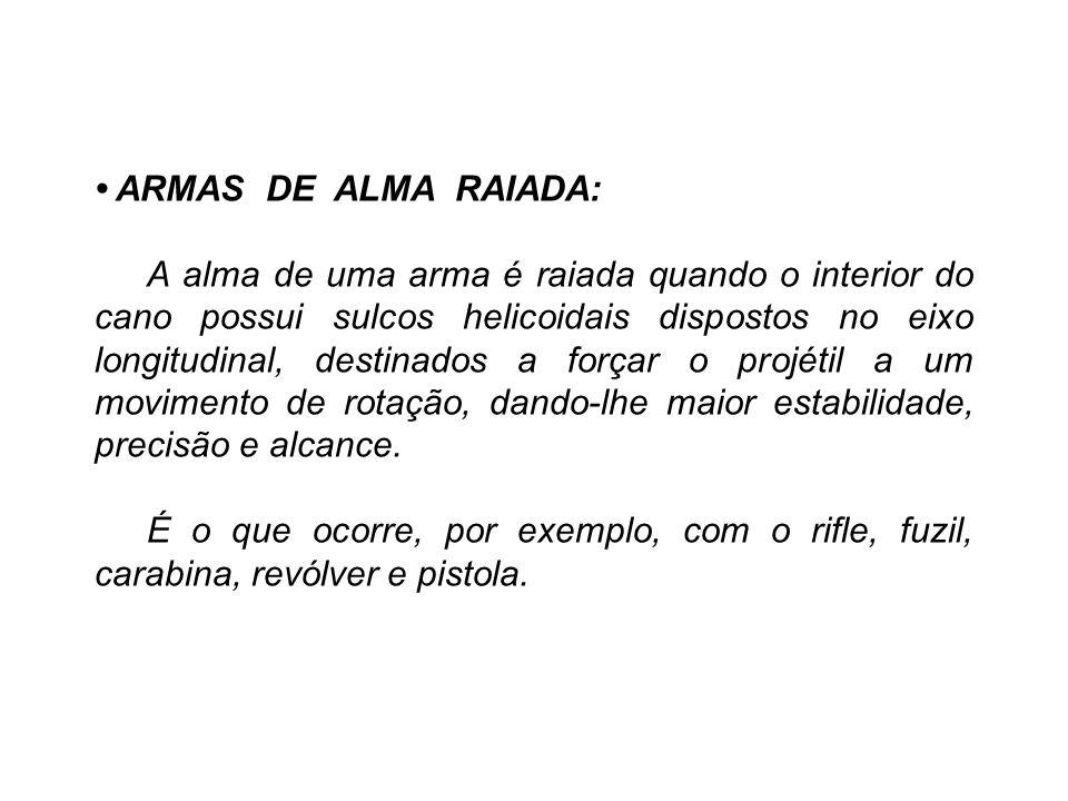 • ARMAS DE ALMA RAIADA: