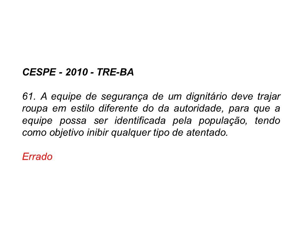 CESPE - 2010 - TRE-BA