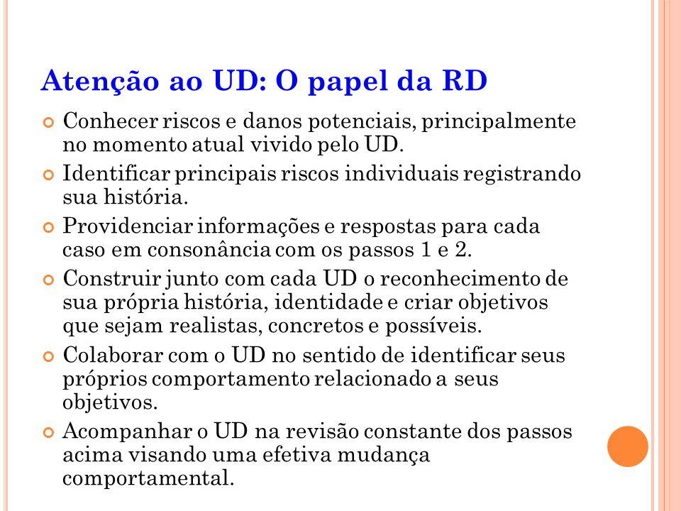Atenção ao UD: O papel da RD