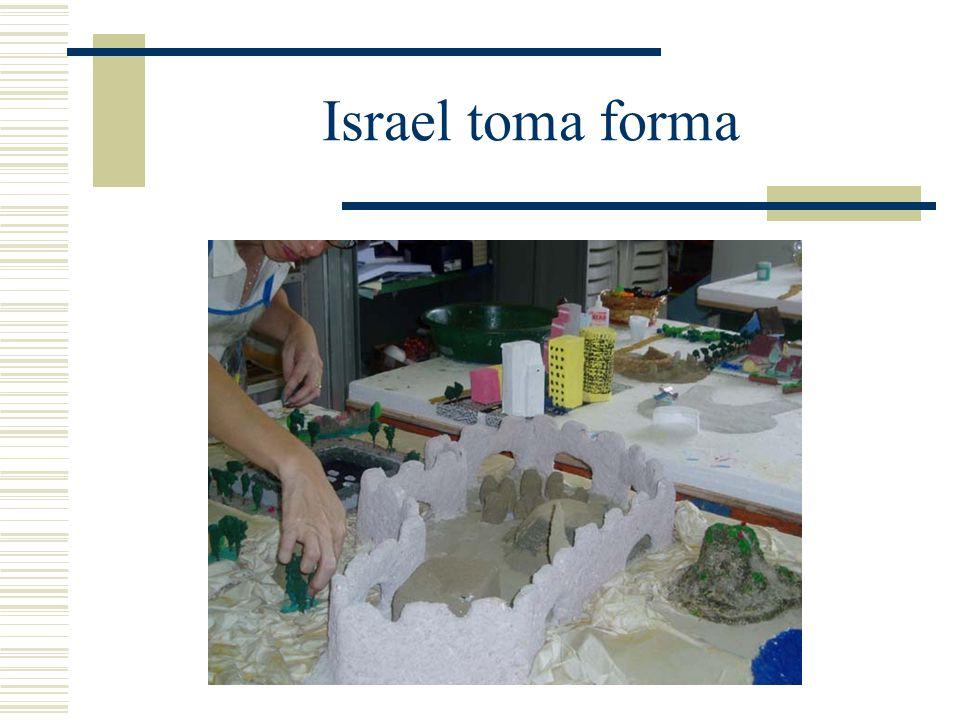 Israel toma forma