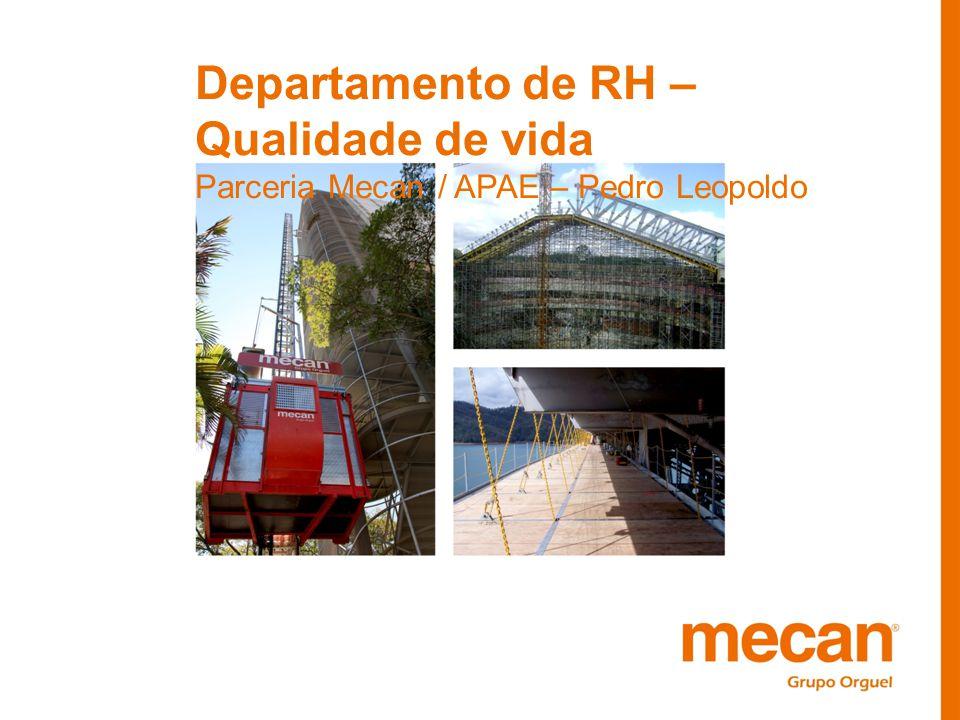 Departamento de RH – Qualidade de vida