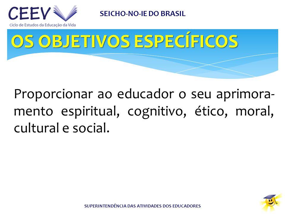 SEICHO-NO-IE DO BRASIL SUPERINTENDÊNCIA DAS ATIVIDADES DOS EDUCADORES
