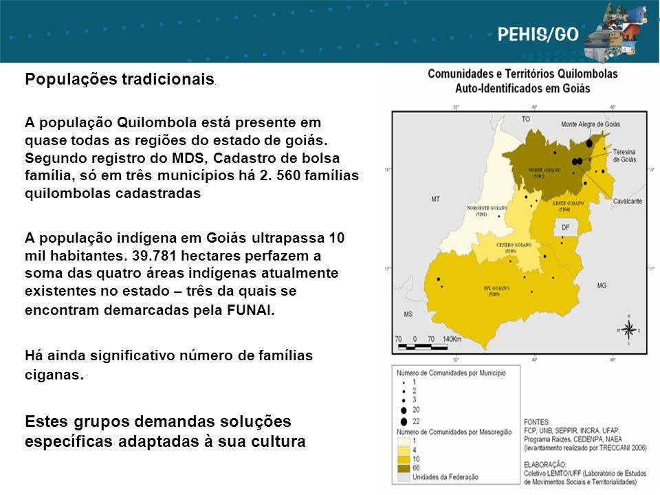 Populações tradicionais.