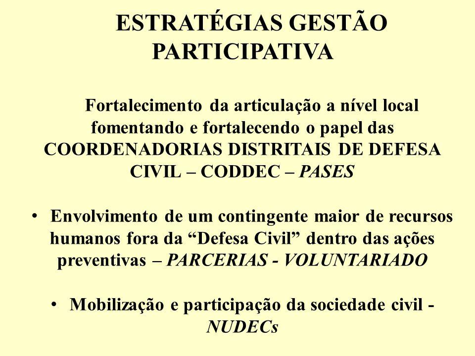 ESTRATÉGIAS GESTÃO PARTICIPATIVA
