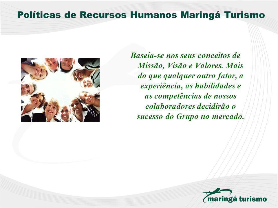 Políticas de Recursos Humanos Maringá Turismo
