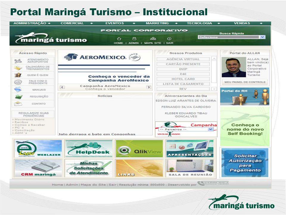 Portal Maringá Turismo – Institucional